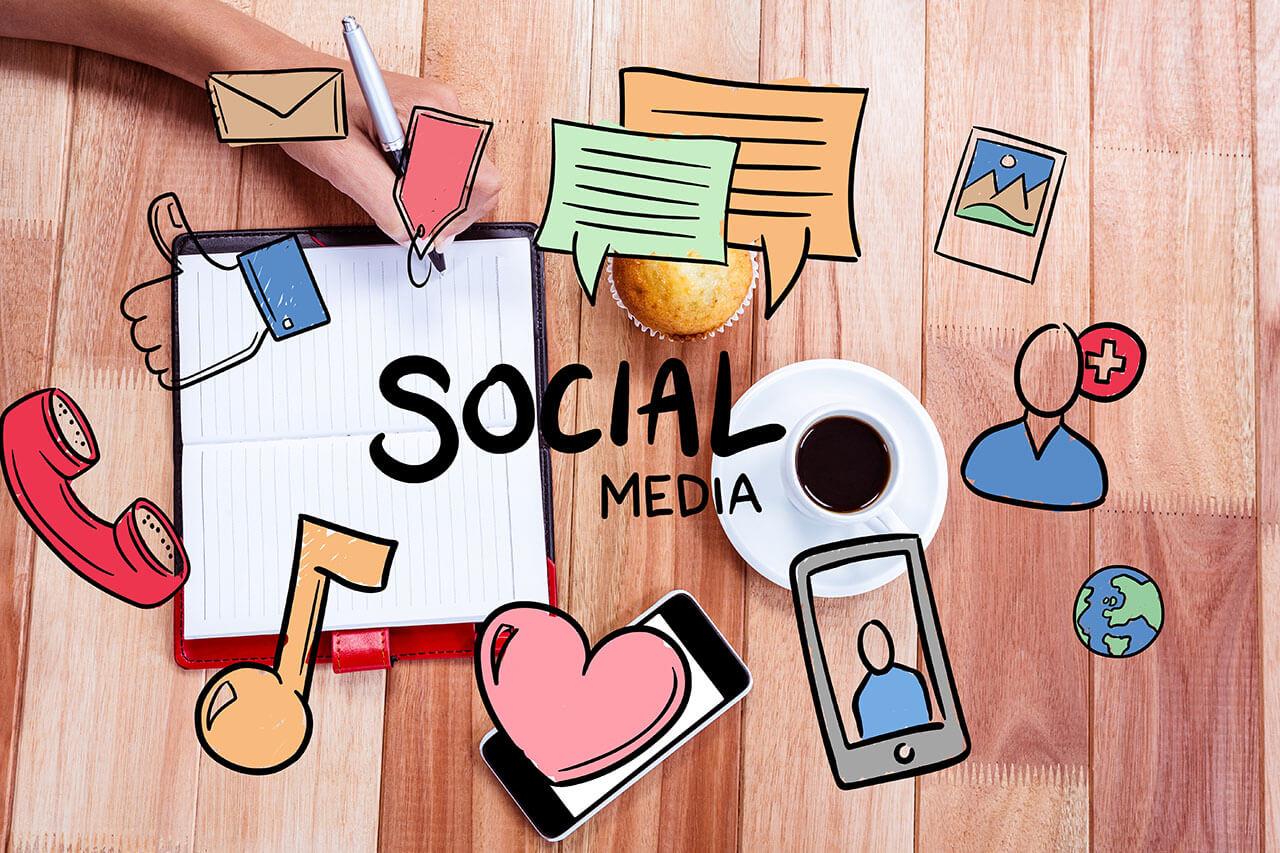 Drawings-social-media-concepts