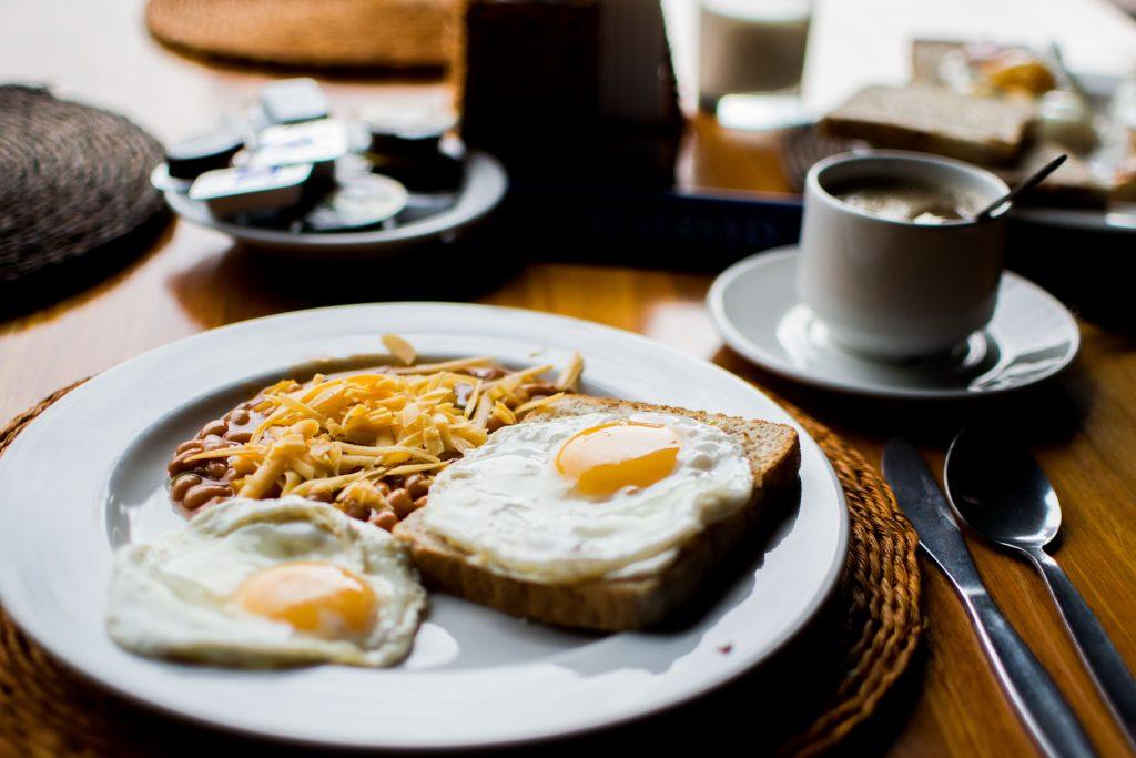 Take a healthy breakfast
