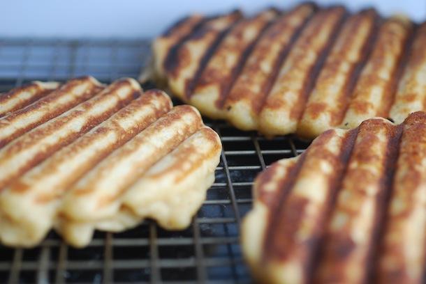 waffles without a waffle iron