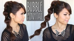 Ponytail-with-bubbles