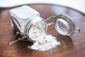 Weigh-out-the-flour-
