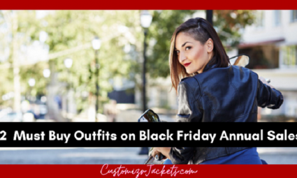 black friday sale on leather jacket